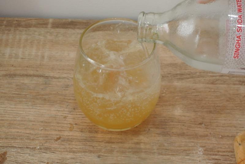 ライムソーダ 炭酸水