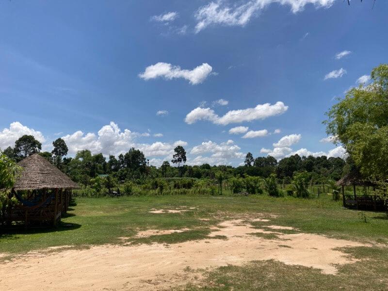 のどかな景色 カンボジア