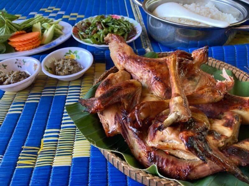 カンボジア 地鶏