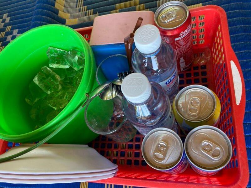 カンボジア 飲み物
