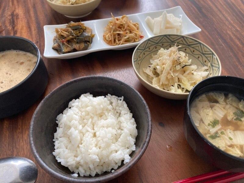 納豆ご飯 朝食